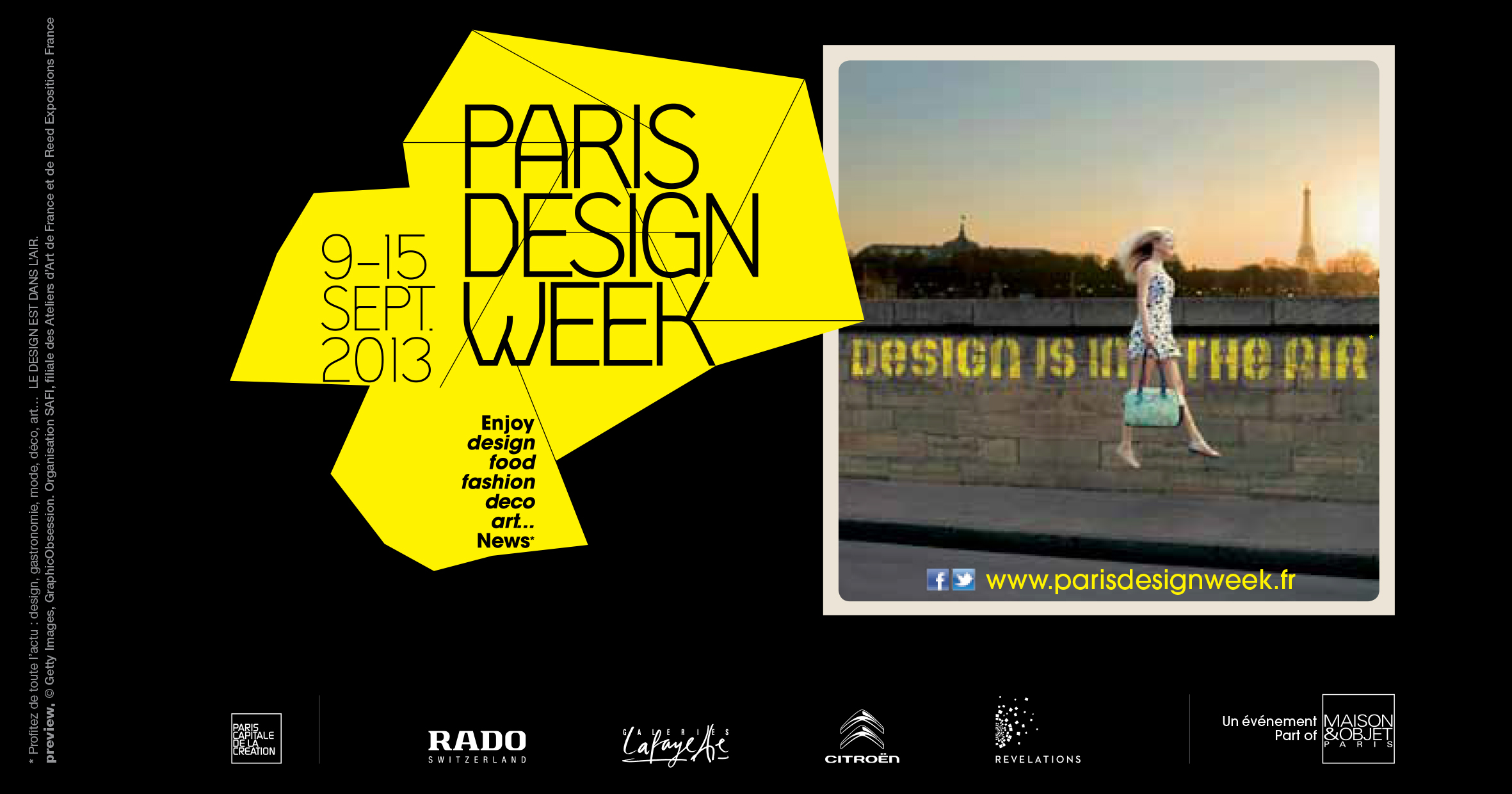 PDW 2013 : Paris Design Week